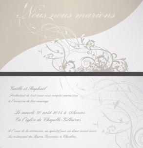 INVITATION : Mariage