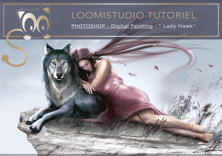 LoomiStudio_Tutoriel_Photoshop_LadyHawk-1